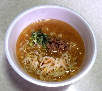 9/20発売 麺匠玄龍監修 濃厚味噌らーめん(できあがり)