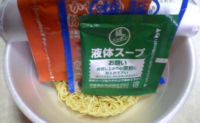 9/12発売 麺ニッポン 博多とんこつラーメン(内容物)