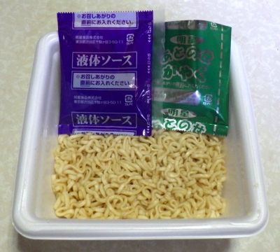 5/2発売 麺屋こころ監修 台湾まぜそば 大盛(内容物)