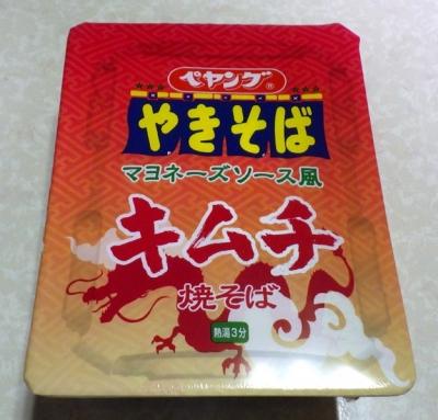 4/18発売 ペヤング マヨネーズソース風 キムチ焼そば