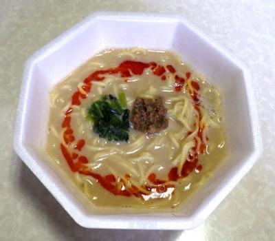 10/17発売 ラ王 芳醇コク担々麺(できあがり)