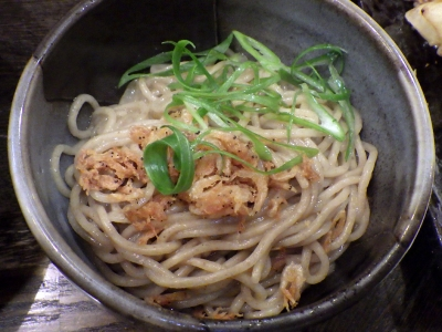 綿麺 フライデーナイト Part108 (16/4/22) かきあげそば(替え玉)