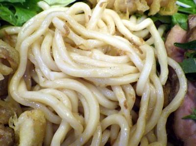 綿麺 フライデーナイト Part114 (16/7/22) 冷やしぶっかけそば(麺のアップ)