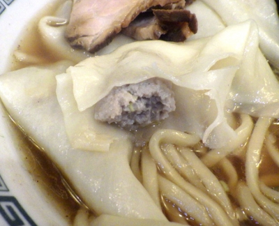 綿麺 フライデーナイト Part117 (16/9/23) 鶏ワンタン麺(ワンタン)