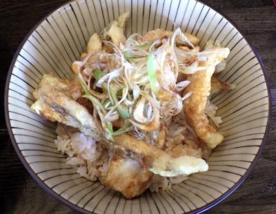 綿麺 太刀天丼(2016年9月)