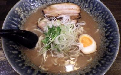 綿麺 和風とんこつ(2016年12月)