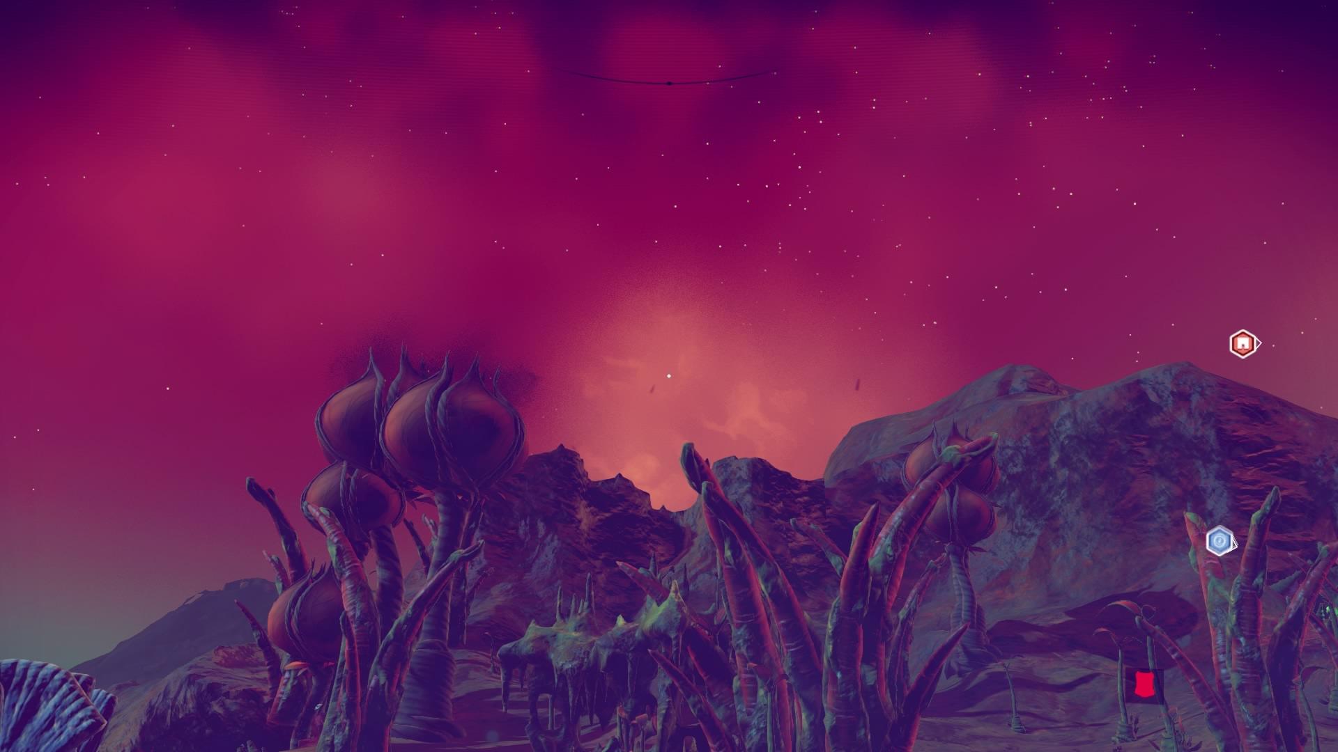 宇宙植物は見る者に対して邪悪な雰囲気を与える事も多い