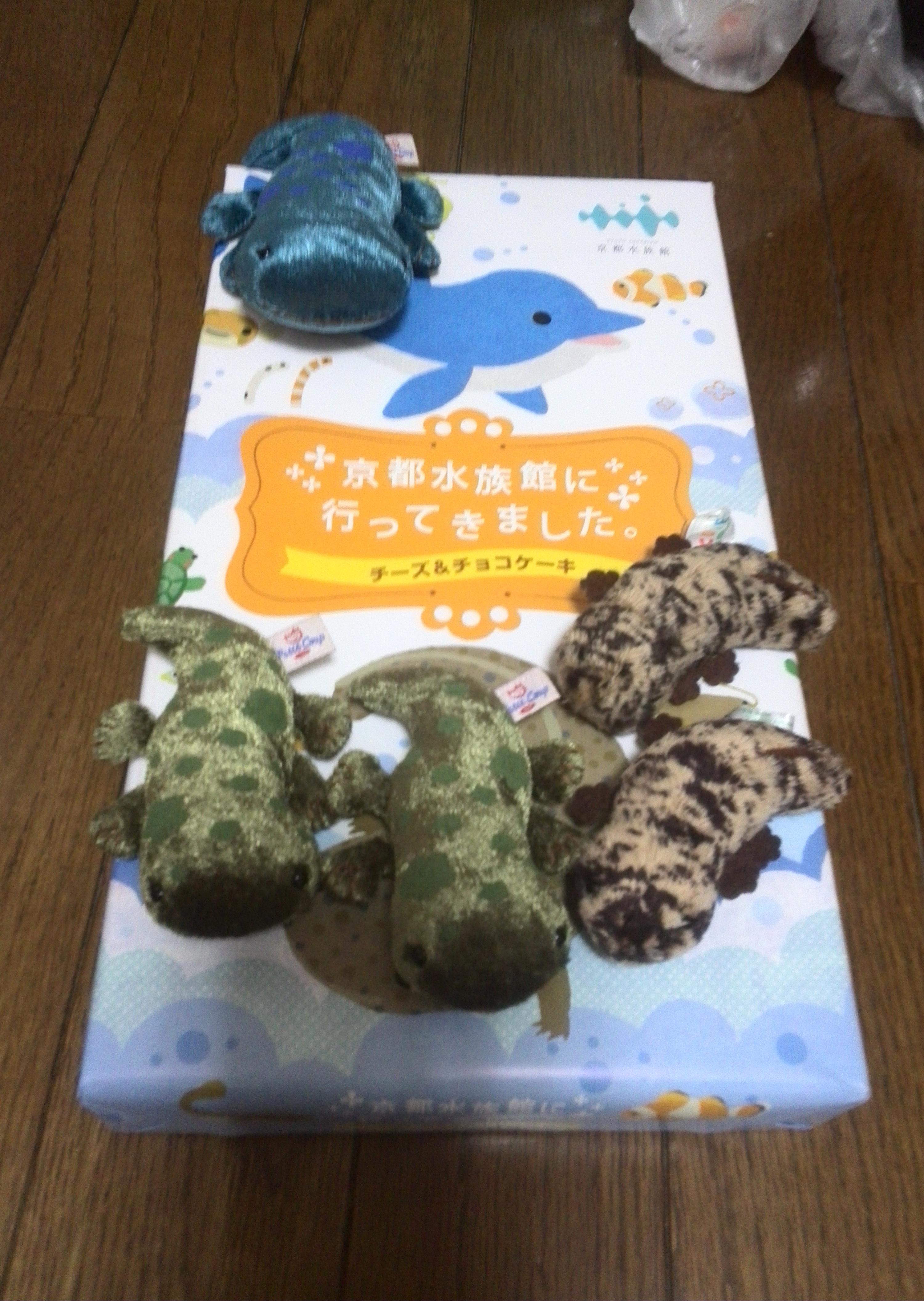 京都水族館の買った物