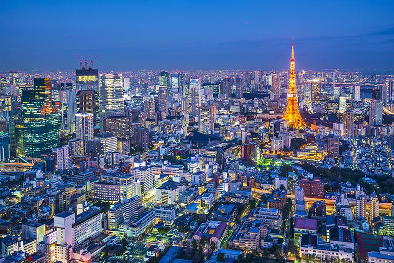 東京の世界は輝かし過ぎる