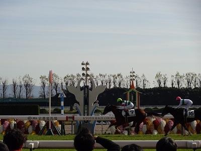 ミリッサ新馬戦ゴール