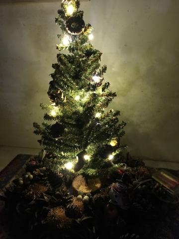クリスマスツリーライトアップ