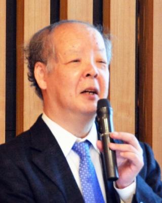 吉岡斉さん(学術会議シンポで)
