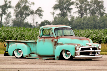 1954 Chevy 3100 short bed Patina Truck
