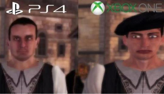 『アサシンクリード:エツィオコレクション』激劣化はXboxOne版だけだった!PS4版は正常
