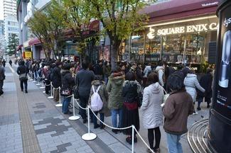 日本での発売記念イベントの様子