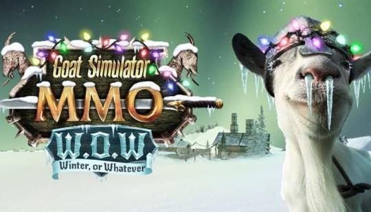 『ヤギシミュレータ』がウインターアップデート!クリスマスにヤギがやってくる!