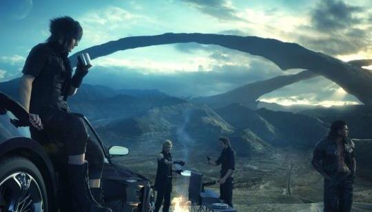 ファイナルファンタジーXVのようなタイトルは、ゲーム内の強力な物語を維持する必要があります