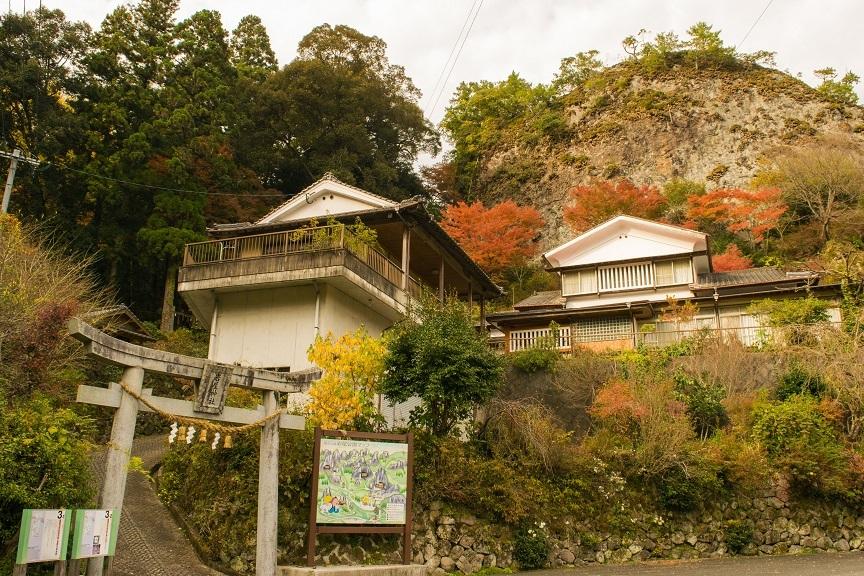 岩屋神社一の鳥居