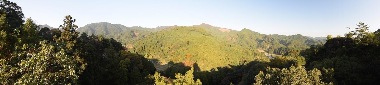 岩屋神社からの景観