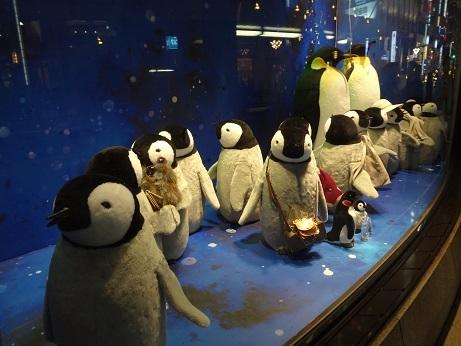 銀座和光ペンギン