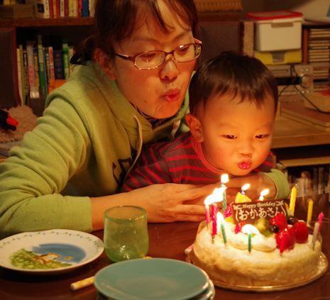 かあさん誕生日