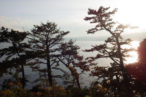 御林から見た真鶴の海