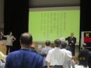 H28 10 2 総会⑱ 懇親会の様子⑤ 稲門会応援歌 縮小版IMG_3152