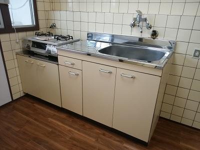 魚崎コーポ514号室キッチン