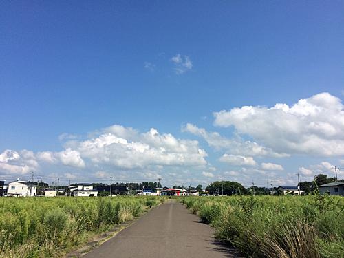 郊外の風景