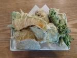 地野菜天ぷら盛り合わせ@蕎麦正なかや