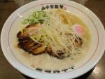 鶏白湯らーめん@山なか製麺所