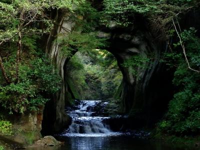 清水渓流公園 濃溝の滝