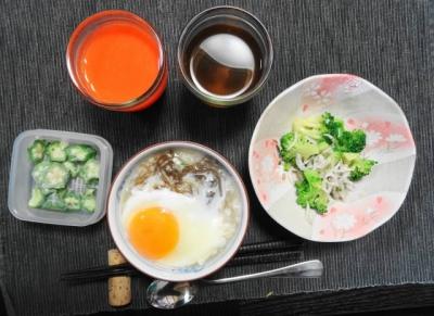 +人参・りんご・レモンジュース、お茶
