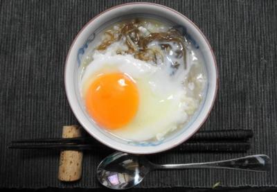 卵入り もずく雑炊