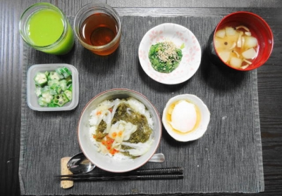 北海道ネバネバ丼セット
