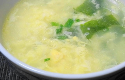溶き玉子のスープ