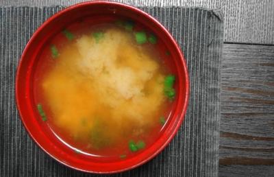 タケノコの味噌汁