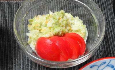 トマトとキャベツのコールスロー