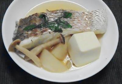 桜鯛の鍋仕立て 切り身