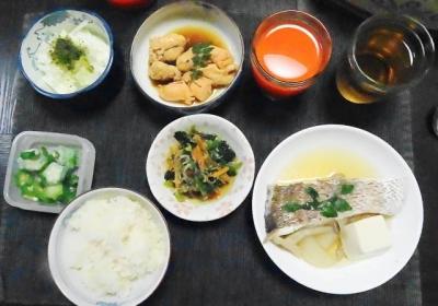 鯛の子+桜鯛の鍋仕立て 御膳