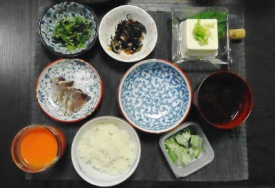 カツオの塩タタキ一式