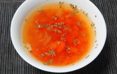 トマト&オニオンスープ