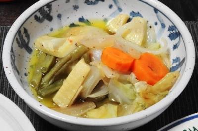 季節野菜のアヒージョ 小鉢