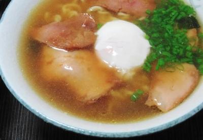 温玉チャーシュー麺