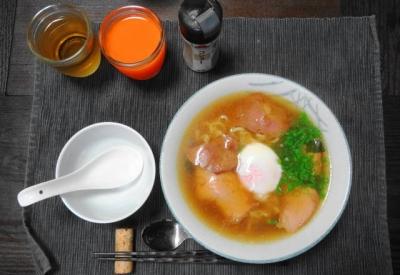 温玉チャーシュー麺セット