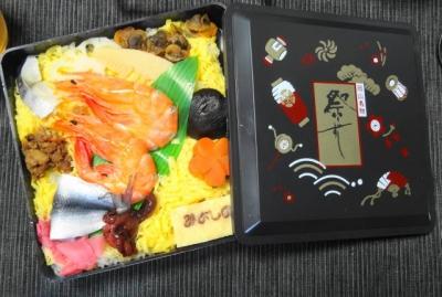 岡山 祭寿司のお弁当