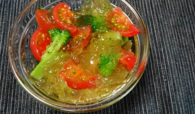 夏野菜のジュレ・サラダ