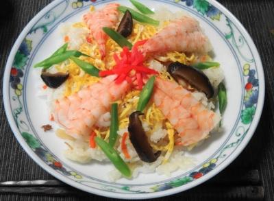 海老ちらし寿司