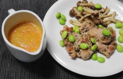 鶏モモ肉の構想焼き ラグーソース