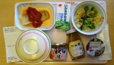 8月14日の昼食